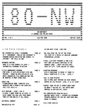 September/October 1978 issue of 80-Northwest Journal