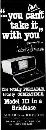 Adcock & Johnson advertisement