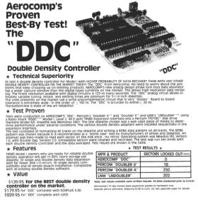 Aerocomp DDC advertisment