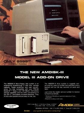 Amdek advertisment from 80 Micro