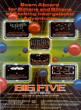 Big Five advertisement from December 1981