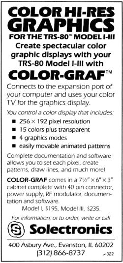Color-Graf advertisment
