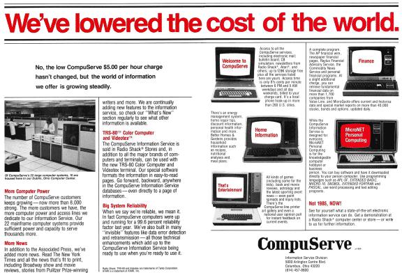 CompuServe advertisement
