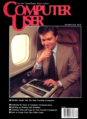 December 1983 issue of Computer User magazine