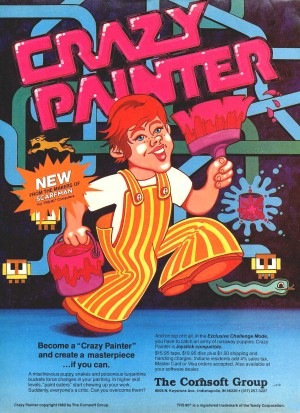 Crazy Painter advertisement