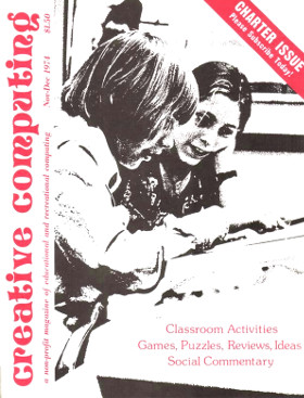 First issue of Creative Computing