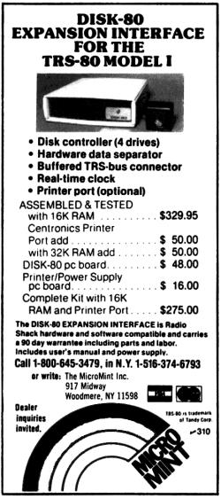 Disk-80 advertisement