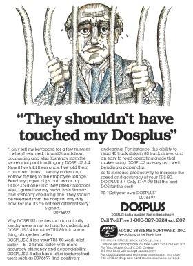 DOSPLUS 3.4 advertisement