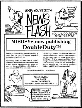 DoubleDuty advertisement