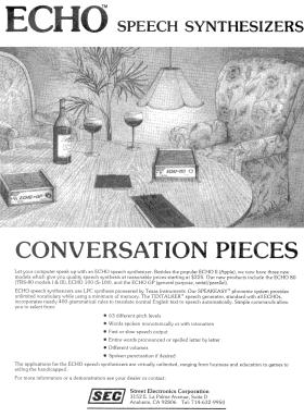Echo-80 advertisement