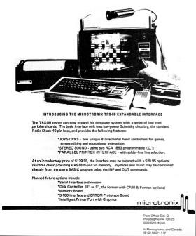 1978 Microtronix advertisement