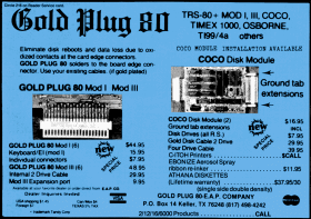 Gold Plug 80 advertisement