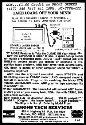 Lemons Tech advertisement