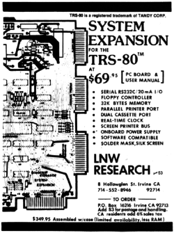 System Expansion advertisement