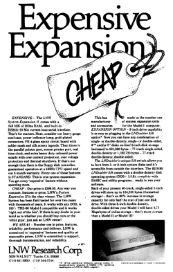 System Expansion II advertisement