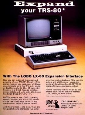 Lobo LX-80 advertisement