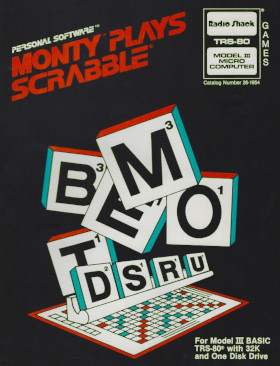 Cover of Monty Plays Scrabble