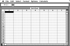 Multiplan for the Apple Macintosh