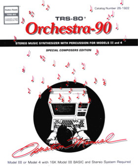 Cover of the Orchestra-90 manual