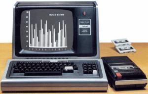 The TRS-80 Model I from a Radio Shack catalog