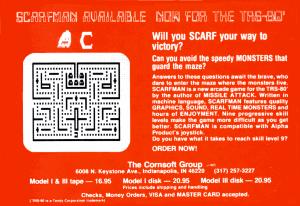Cornsoft Group advertisement