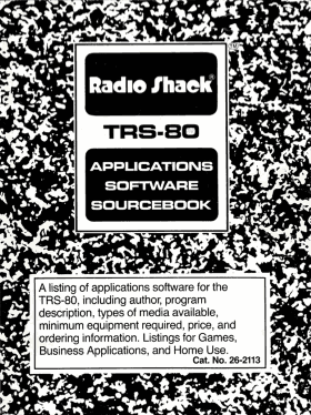 TRS-80 Applications Software Sourcebook