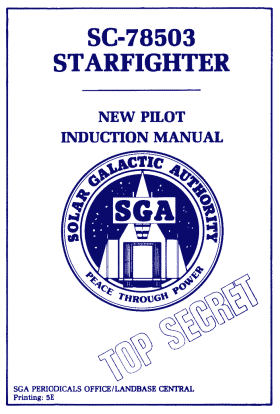 Starfighter manual