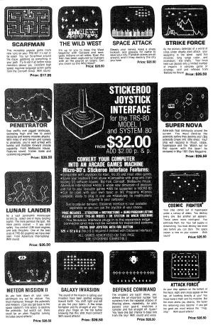 Stickeroo Joystick Interface advertisement