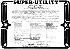 Breeze Computing advertisement