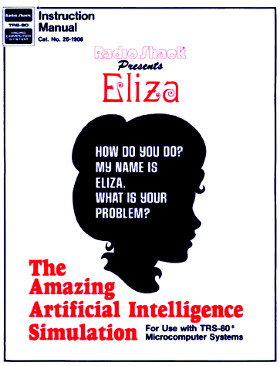Cover of the instruction manual for Eliza