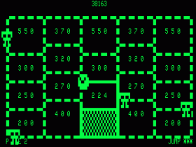One square is captured in Time Runner