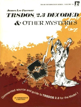 TRSDOS 2.3 Decoded and Other Mysteries